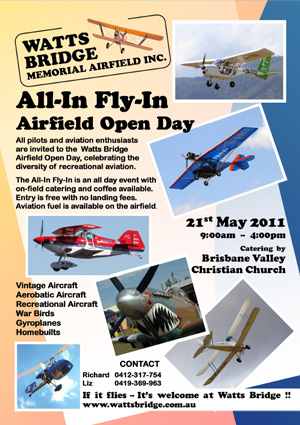 The All-In Fly-In 2011 Poster