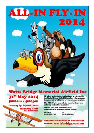 The All-In Fly-In 2014 Poster