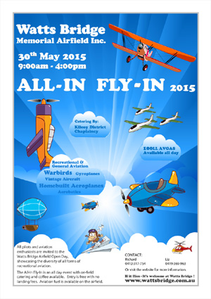 The All-In Fly-In 2015 Poster