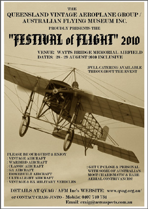 The Festival Of Flight 2010 Poster