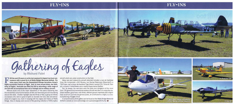 Click to read the Sport Pilot article.