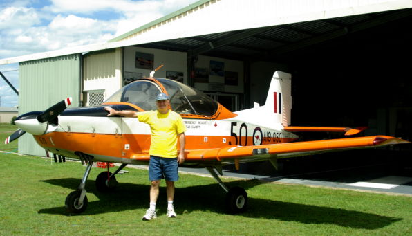 Ron Dunn with his PT4