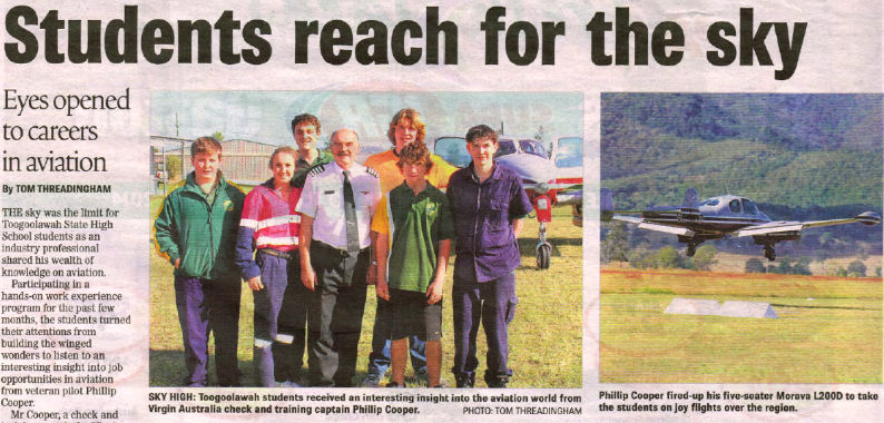 Click to view the Gatton Star Newspaper Article